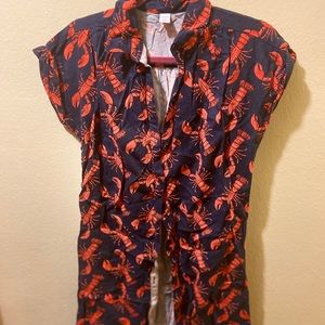 Old navy lobster shirt dress*